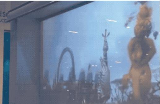 可控制清晰与模糊的高科技玻璃贴膜