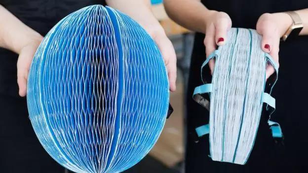 可折叠纸头盔售价5美元 保护效果不输常规头盔