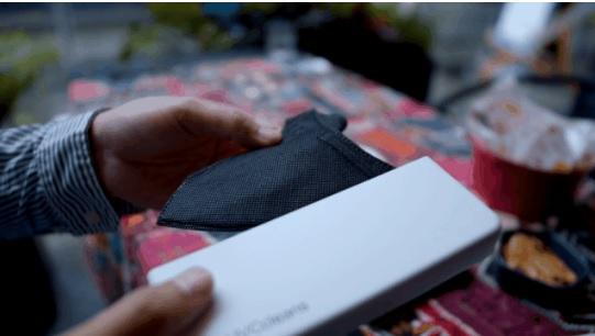 便携UVC口罩消毒器 有了它就不用天天换口罩
