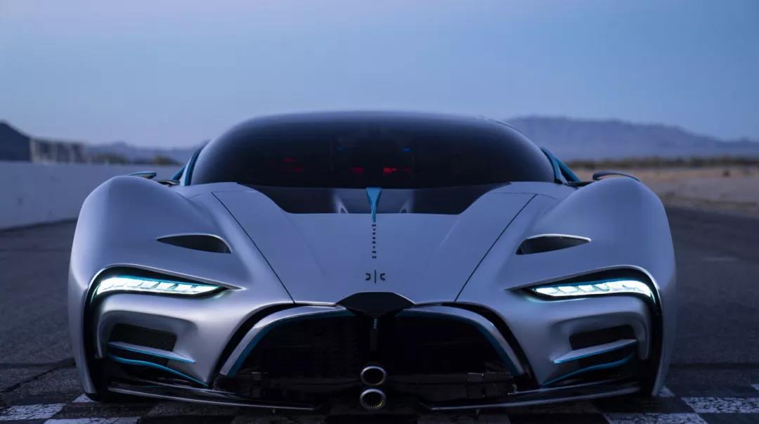 氢燃料超级电动跑车 续航1600公里2.2秒破百