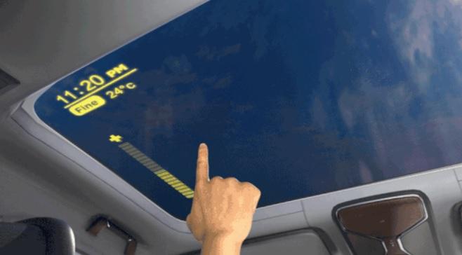 京东方做了个智能车窗 可触摸控制调节透明度