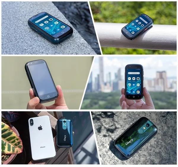 全球最小的Android10智能手机Jelly2,小屏党福音